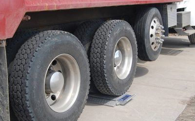Portable Truck Scales for Axle Weighing